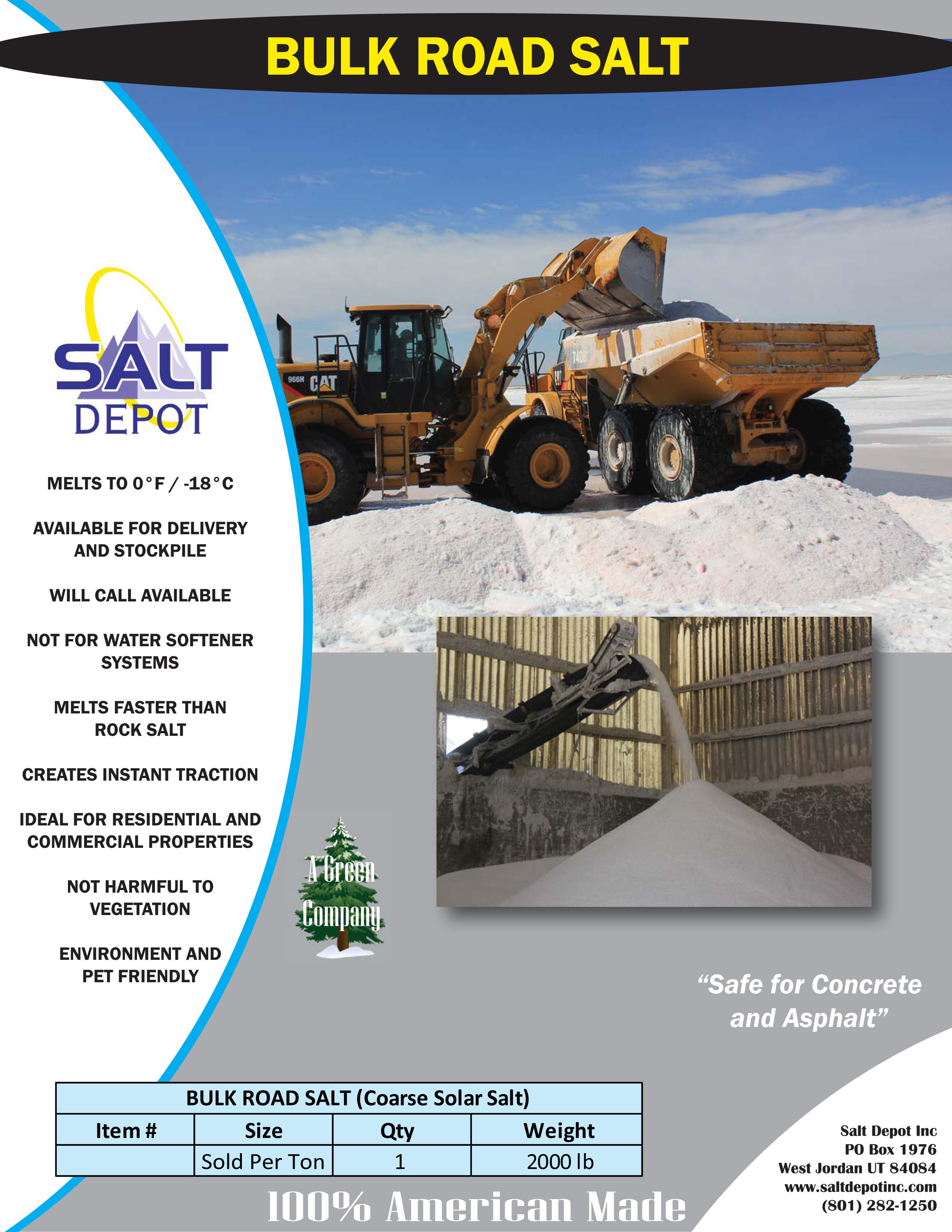 Bulk Road Salt Flyer