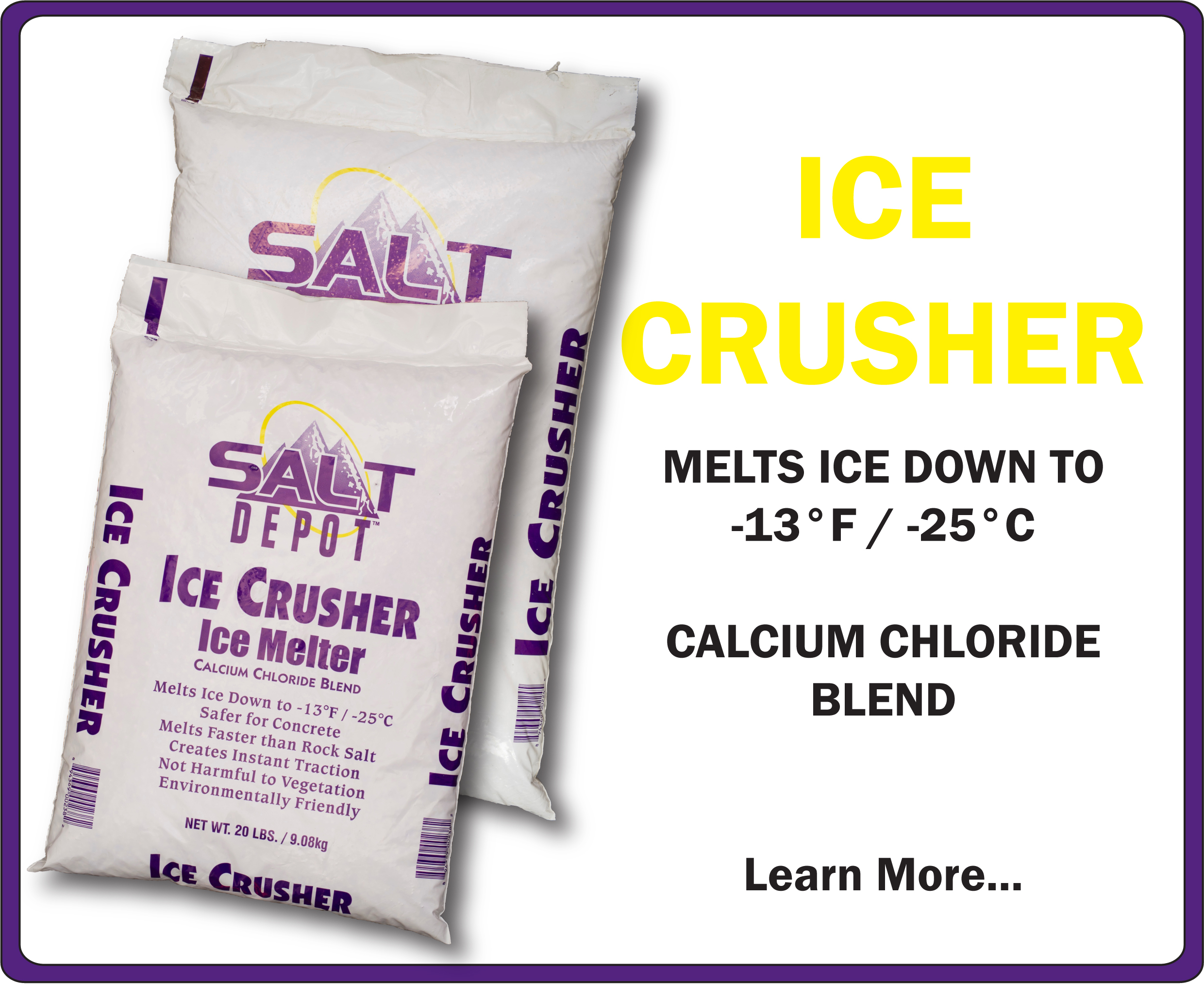 Ice Crusher Ice Melt