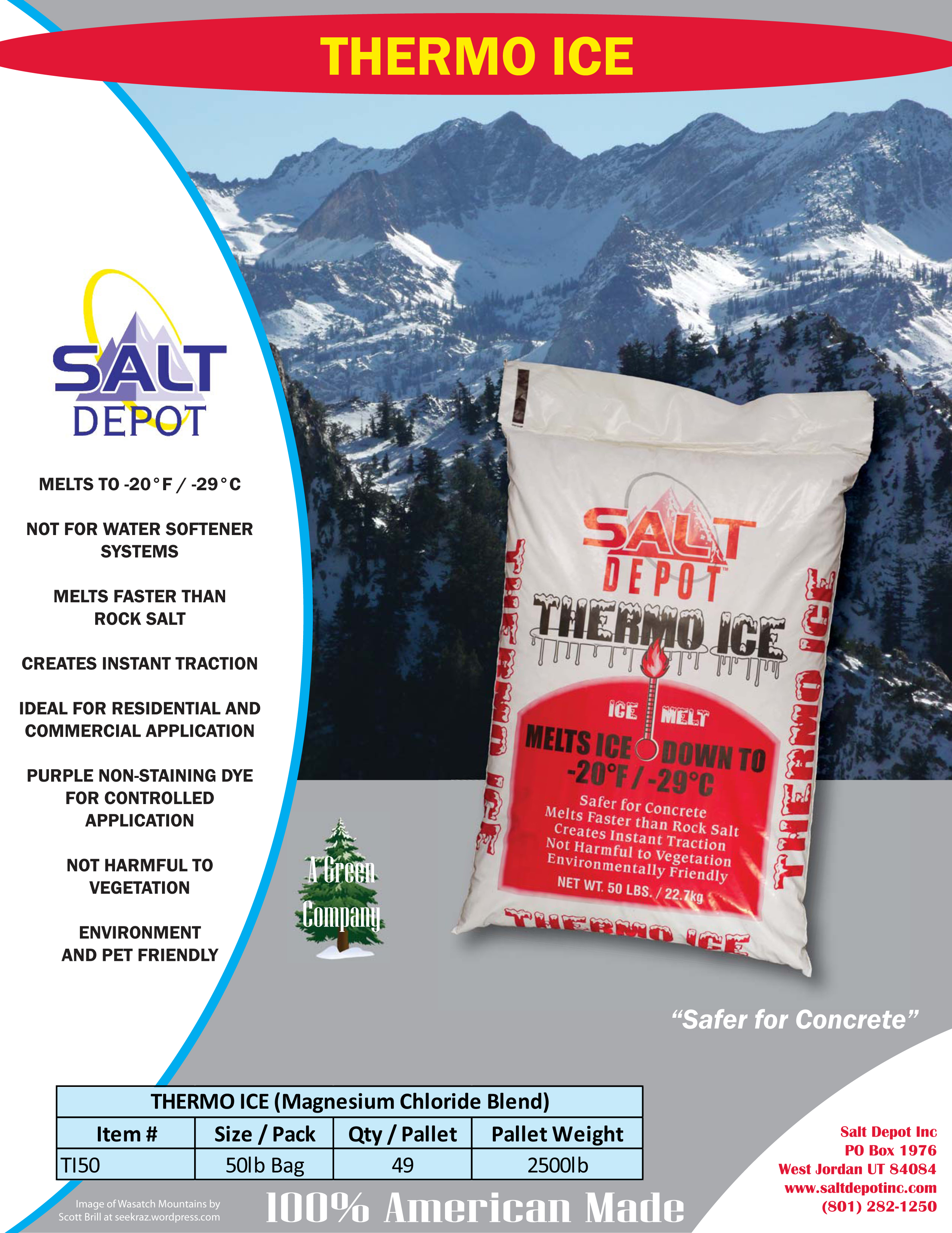 Thermo Ice Ice Melt Flyer